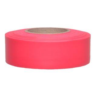 "Swanson CMRG15 1-3/16"" X 150' Red Flagging Tape"