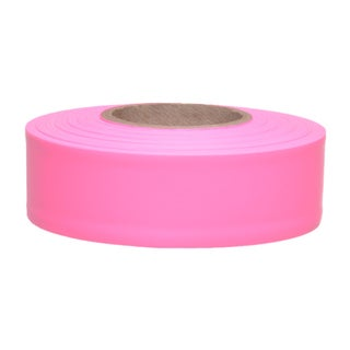 "Swanson CMPG15 1-3/16"" X 150' Pink Flagging Tape"