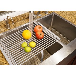 Stainless Steel Dish Drying Rack (2 options available)