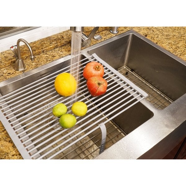 Shop Stainless Steel Dish Drying Rack Free Shipping On