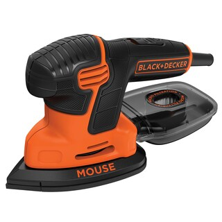 Black+Decker Mouse Corded Mouse Detail Sander 1.2 amps 14 opm