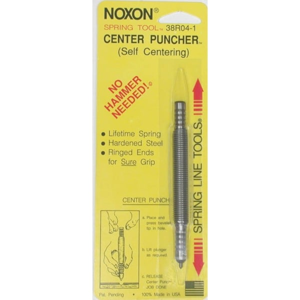 Spring Tools 38R04-1 Self-Centering Center Punch