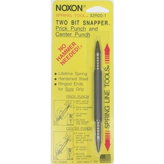 Spring Tools 32R00-1 Two Bit Snapper Prick Punch & Center Punch