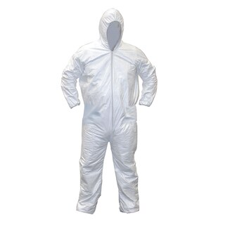SAS Safety Corporation 6894 Extra-Large Gen-Nex All-purpose Hooded Coveralls
