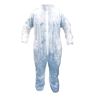 SAS Safety Corporation 6844 Extra-Large Polypropylene Disposable Coveralls