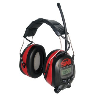 SAS Safety Corporation 6108 AM-FM Earmuff Hearing Protection