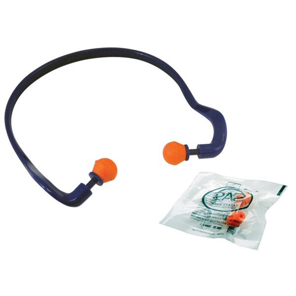 SAS Safety Corporation 6102 Banded Earplugs