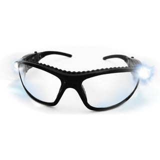 SAS Safety Corporation 5420-50 Polycarbonate LED Inspectors Safety Glasses