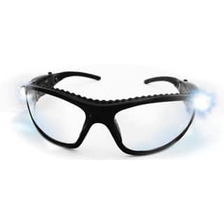 SAS Safety Corporation 5420-50 Polycarbonate LED Inspectors Safety Glasses|https://ak1.ostkcdn.com/images/products/11636151/P18569686.jpg?impolicy=medium