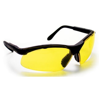 SAS Safety Corporation 541-0012 Yellow Polycarbonate Clamshell Sidewinder Safety Eyewear