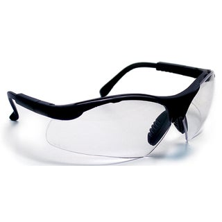 SAS Safety Corporation 541-0010 Clear Polycarbonate Clamshell Sidewinder Safety Eyewear