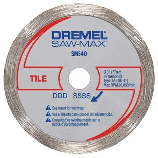"Dremel SM540 3"" Tile Diamond Wheel"