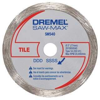 "Dremel SM540 3"" Tile Diamond Wheel"