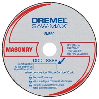 """Dremel SM520C 3"""" Masonry Cut-Off Wheel"""
