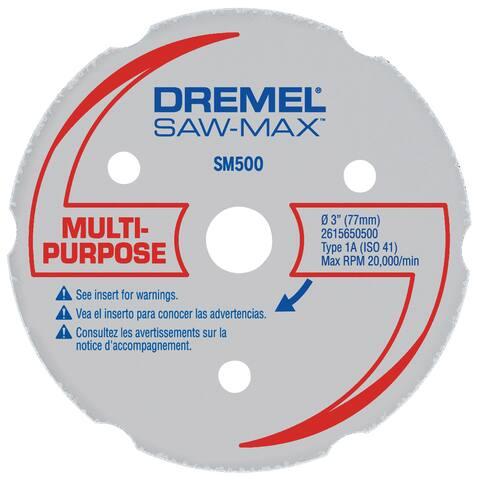 "Dremel SM500 3"" Multi-Purpose Carbide Wheel"