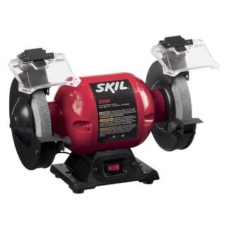 """Skil 3380-01 6"""" Bench Grinder With Light"""