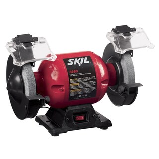 "Skil 3380-01 6"" Bench Grinder With Light"