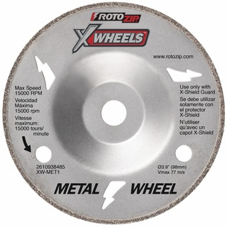 "Bosch XW-MET1 4"" RotoZip Metal Cutting Wheel"