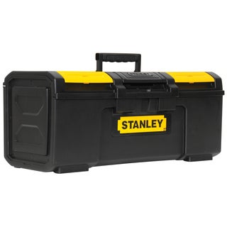 "Stanley Hand Tools STST24410 24"" Black & Yellow Auto Latch Tool Box"