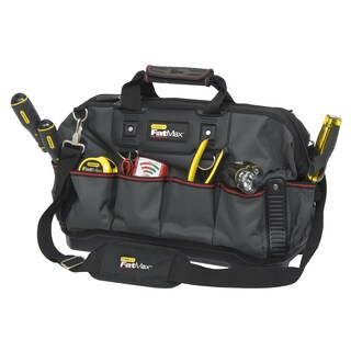 """Stanley 518150M 18"""" Stanley FatMax Open Mouth Tool Bag"""