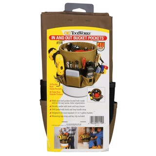 CLC Work Gear 1119 48 Pocket Bucket Pockets