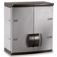 """Rubbermaid 788800MICHR 24"""" Mica & Charcoal Wall Cabinet"""