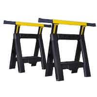 Stanley STST60626 Adjustable Sawhorses 2-count