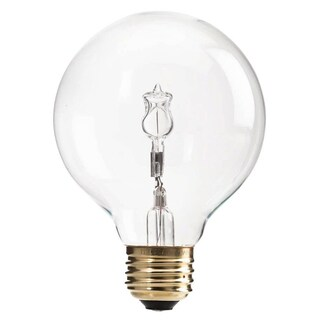 Phillips 433680 40 Watt EcoVantage G25 Decorative Bulb 3-count