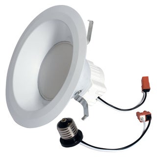 "GE Lighting 95392 6"" 12 Watt Dimmable Recessed LED Indoor Flood Downlight"
