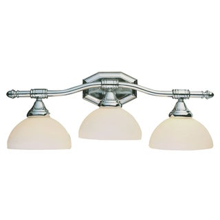 Bel Air Lighting CB-2523-PC 3 Light Polished Chrome Bath Bar