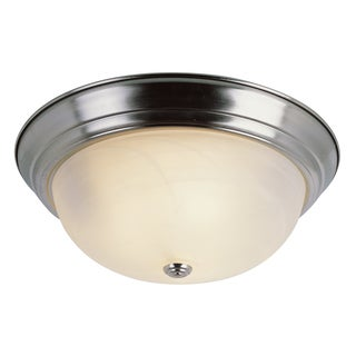 "Bel Air Lighting CB-13618-BN 13"" Brushed Nickel Standard Flushmount Fixture"