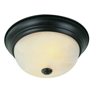 "Bel Air Lighting CB-13617-ROB 11"" Rubbed Oil Bronze Flushmount Fixture"