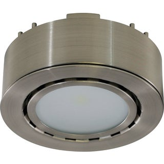 Liteline Corporation UCP-LED1-MN 12 Volt Nickel LED Puck Light