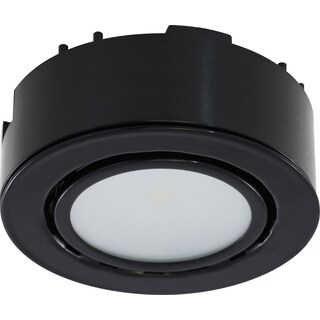 Liteline Corporation UCP-LED1-BK 12 Volt Black LED Puck Light