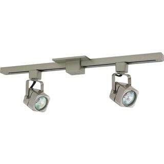 Liteline Corporation 71250-90343 2' Brushed Nickel Track Lighting Fixture