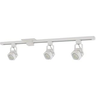 Liteline Corporation 71250-90344 4' White Apollo Three Head Track Lighting Fixture