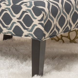 Saloon Fabric Print Accent Chair by Christopher Knight Home