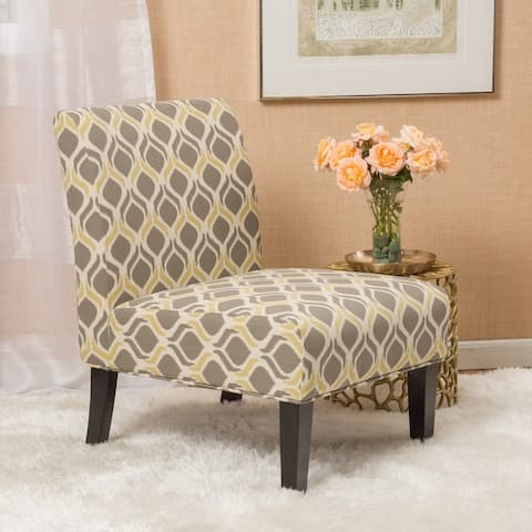 Aberjona Contemporary Fabric Slipper Accent Chair by Christopher Knight Home