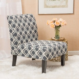 Link to Aberjona Contemporary Fabric Slipper Accent Chair by Christopher Knight Home Similar Items in Living Room Chairs