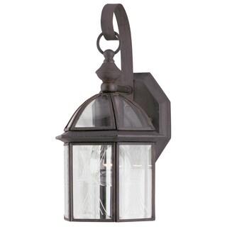 Westinghouse 6985600 Rust One-Light Exterior Wall Lantern