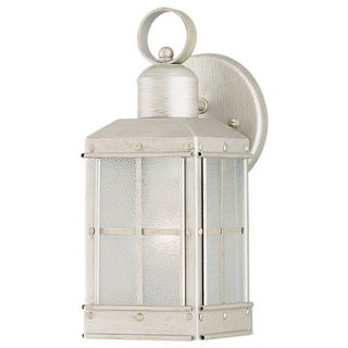 Westinghouse 6961000 One Light Pewter Patina Finish Exterior Wall Lantern