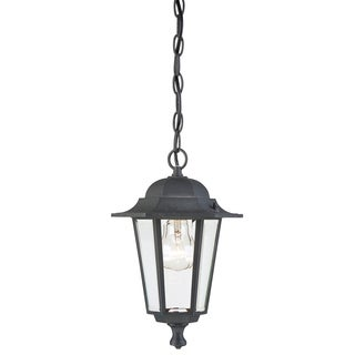 Westinghouse 6784300 Black One-Light Exterior Pendant Lantern