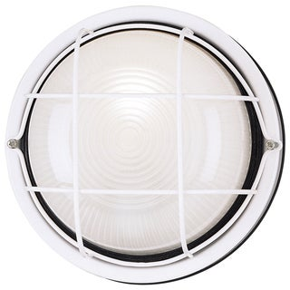 Westinghouse 6783600 White One Light Outdoor Wall Fixture