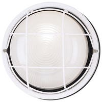 Westinghouse  1 lights White  Outdoor Wall Fixture