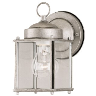 Westinghouse 6468400 Silver Outdoor Wall Sconce