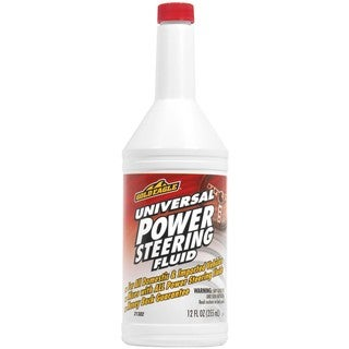 Gold Eagle 21302 12 Oz Universal Power Steering Fluid