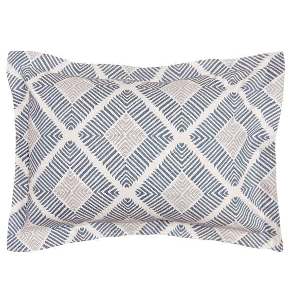LaMont Home Equinox Geometric Patterned Cotton Sham