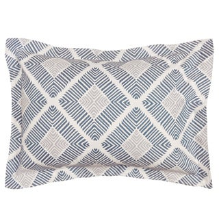 LaMont Home Equinox Geometric Patterned Cotton Sham