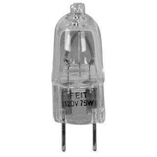 Feit Electric BPQ75/G8 75 Watt Halogen Clear G8 Base 120 Volt