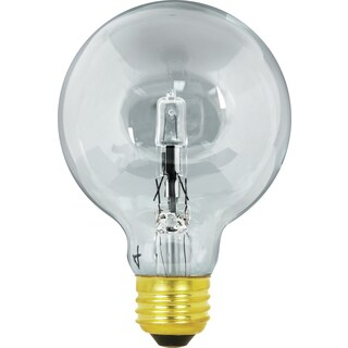Feit Electric Q40G25 40 Watt Clear Instant On Energy Saver Halogen